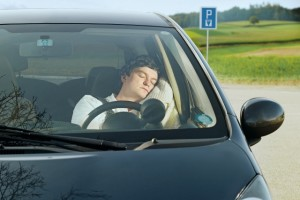 If you just can't stay awake while driving, pull over and take a nap!