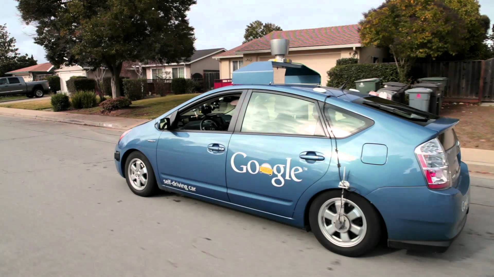 Google, although a tech brand, is the face of the self driving car.