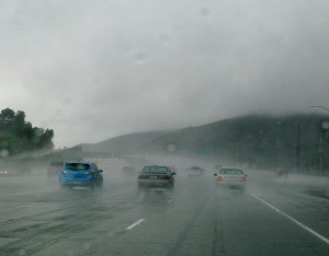 Defensive driving techniques can save lives in bad weather conditions.