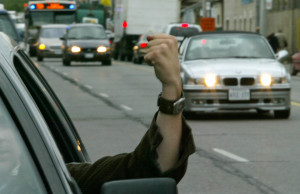 Anger is a common cause of distracted driving, and it often leads to road rage.