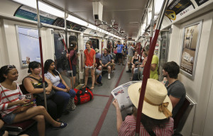 How often you drive often depends on the accessibility of other transportation, such as subways.