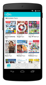 Flipp updates you with deals from various retailers to help you save big.