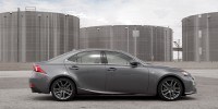 Crisp luxury cars such as the 2014 Lexus IS 250 are both fashionable and frugal.