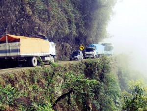 Do your research before driving along treacherous routes like Bolivia's Yungas Road!