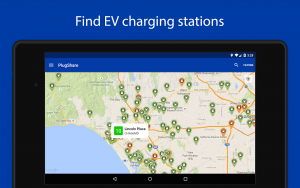 PlugShare helps drivers of hybrid cars and EVs to find charging stations close by.