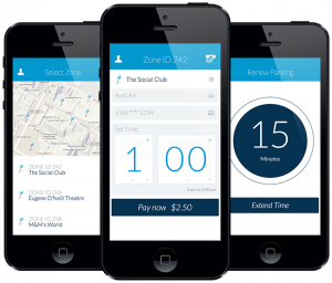Honk is an app that pinpoints the nearest parking spots in your immediate area.