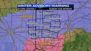 Watching winter weather reports are essential for driver safety.