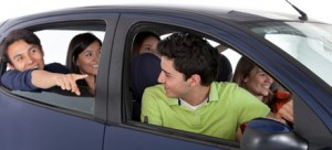 Young drivers often make use of a second car if parents have more than one..