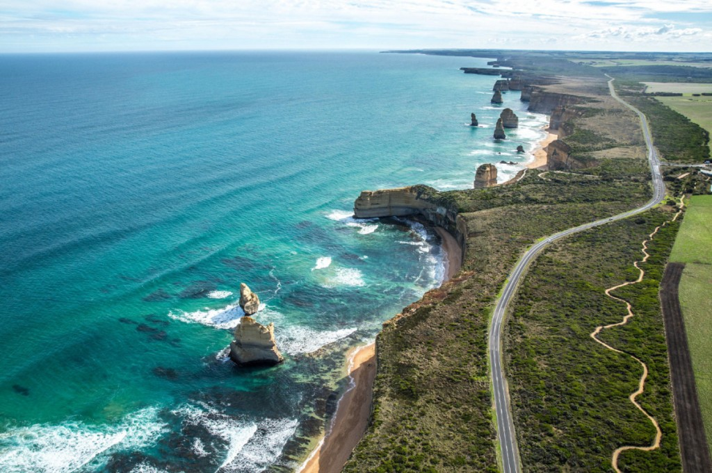Car driving excursions along routes like Great Ocean Road in Australia bring lasting memories.