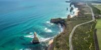 Car driving excursions along routes like Great Ocean Road in Australia bring lasting memories.