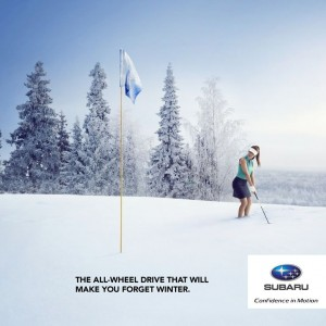 Advertising has unintentionally led to the myth of all-wheel drive cars being safer in winter.