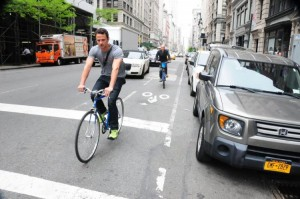 Drivers often accuse cyclists of making the effort to drive safe difficult.
