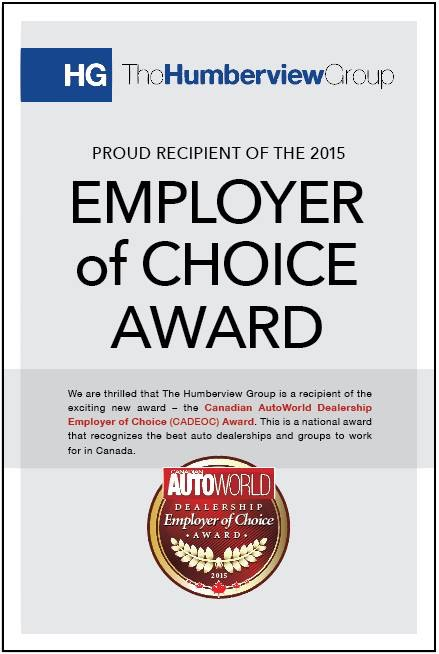 employer choice award