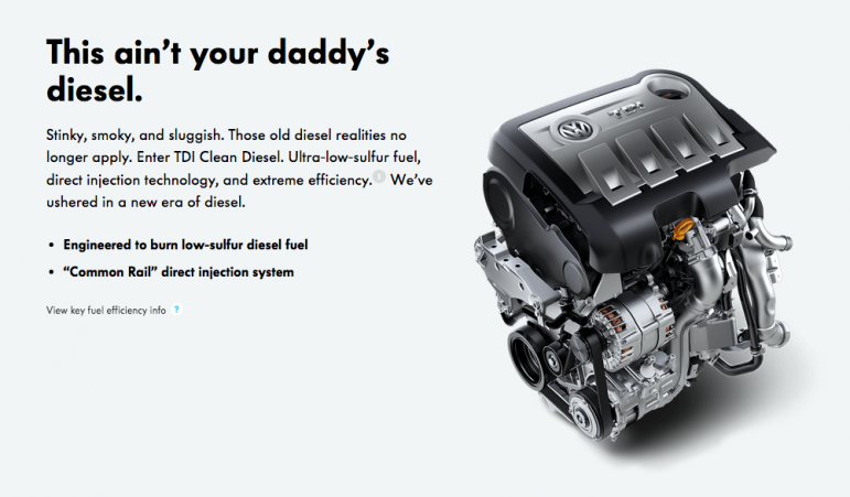 Volkswagen car ads have been heavily scrutinized following the clean diesel scandal.
