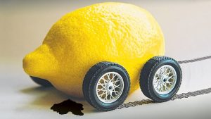 A lemon car isn't obvious up front, but closer inspection reveals its flaws.