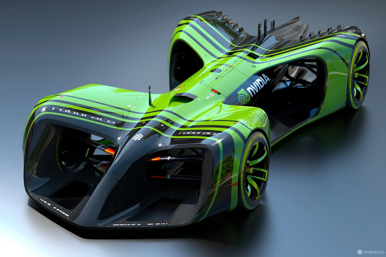 These driverless race cars will run on the most powerful AI engines made for automobiles.