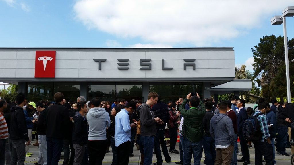 Lineups for the Model 3 show the demand for Tesla's new addition.