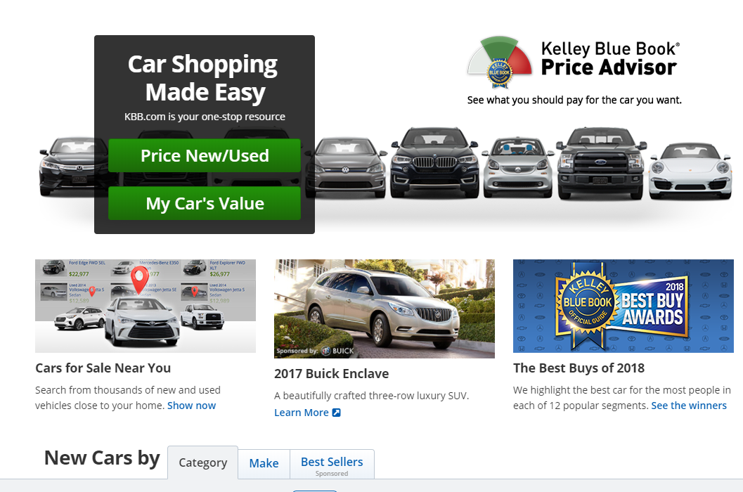 Kelley Blue Book is a great tool to help you figure out the value of a car.