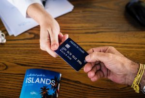 You need to be restrained about using credit cards